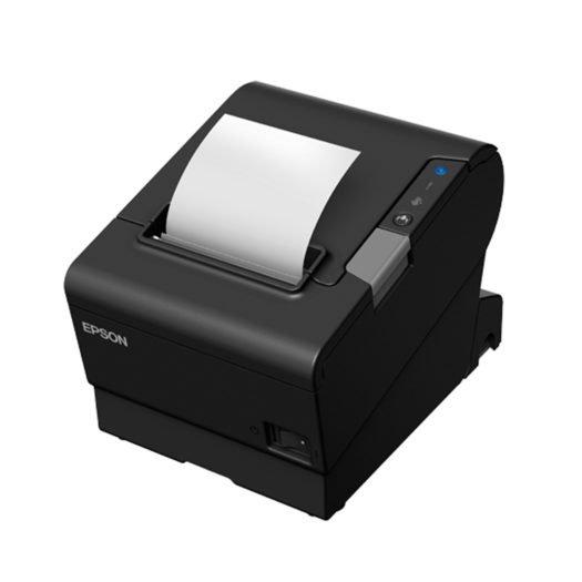 Impresora térmica epson tm-t88vi imprimiendo ticket en mundotpv