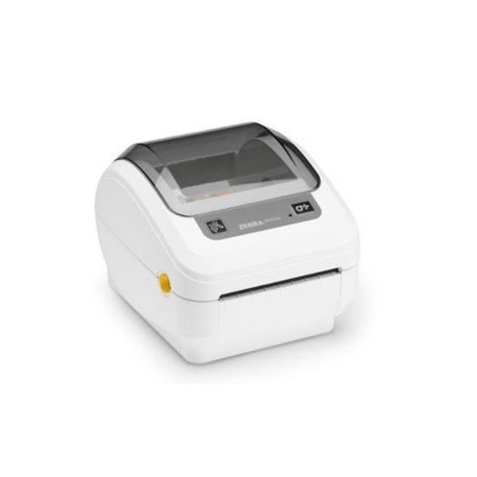 Impresora térmica Zebra GK420D en blanco