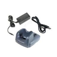 Base de carga y comunicación RS232 + USB + cable USB. Dolphin 6000