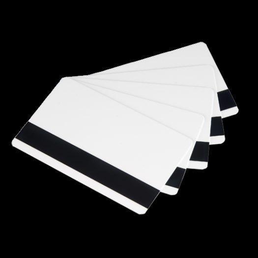 100 Tarjetas RW (Reimprimibles) Negras. Banda Magnética Alta Coercitividad.