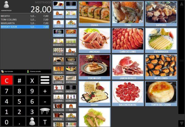 Software TPV 4 Pro - Restaurante