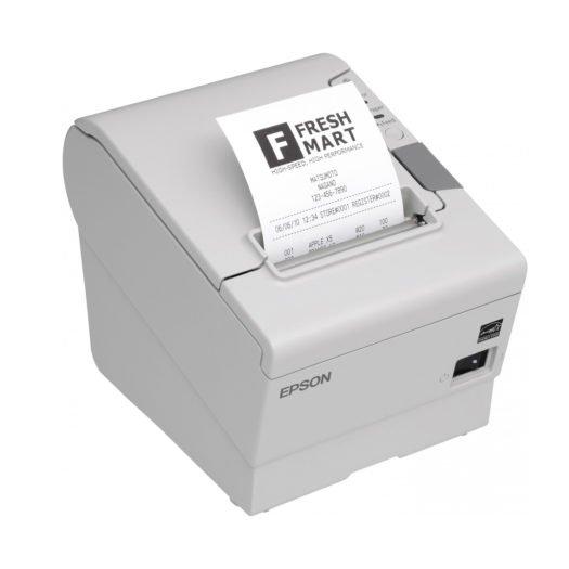Impresora Térmica Epson TM-T88V blanca en Mundotpv