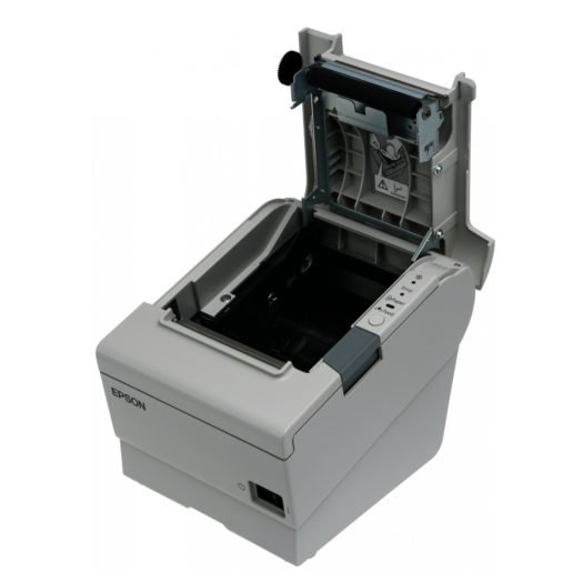 Interior de la impresora Térmica Epson TM-T88V