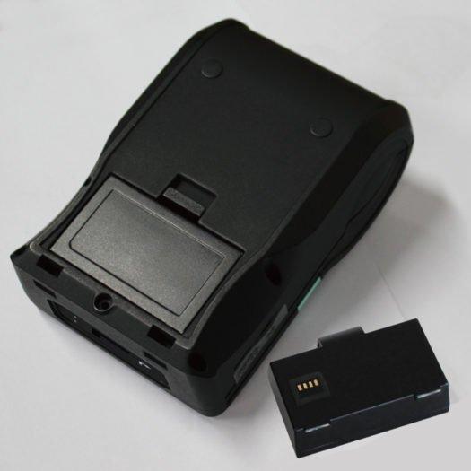 Impresora térmica portátil Godex desmontada