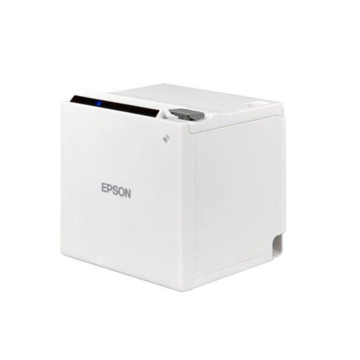 Impresora Térmica Epson TM-m30 blanca en Mundotpv