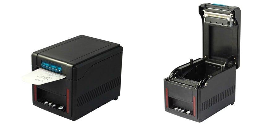 Perspectivas de la impresora térmica SEYPOS PRP100 – WiFi