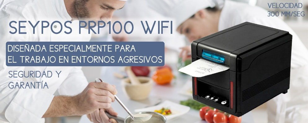 Características de la Impresora Térmica SEYPOS PRP100 – WiFi