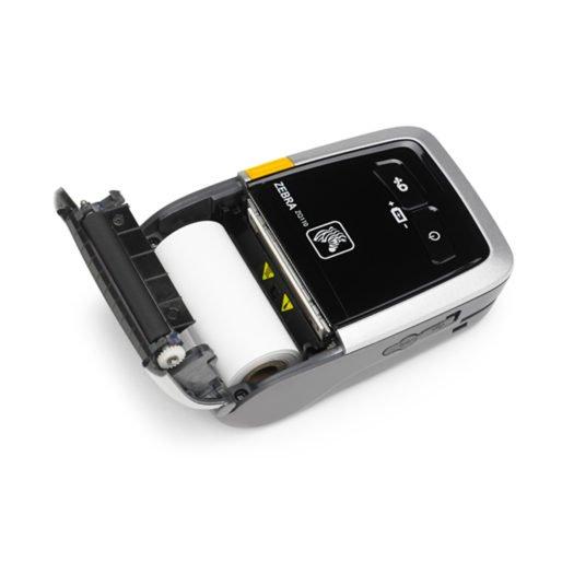 Impresora térmica portátil Zebra ZQ110 abierta